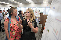 "Jessica Wilcox '17 presents ""Emerging adults' feelings of loneliness in college""<br /> Occidental College's Undergraduate Research Center hosts their annual Summer Research Conference on Aug. 4, 2016. Student researchers presented their work as either oral or poster presentations at the final conference. The program lasts 10 weeks and involves independent research in all departments.<br /> (Photo by Marc Campos, Occidental College Photographer)"