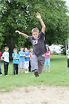 Liam Kelleher tries the Long Jumps at the Greenhills Summer Camp...(Photo credit should read Jenny Matthews www.newsfile.ie)....This Picture has been sent you under the conditions enclosed by:.Newsfile Ltd..The Studio,.Millmount Abbey,.Drogheda,.Co Meath..Ireland..Tel: +353(0)41-9871240.Fax: +353(0)41-9871260.GSM: +353(0)86-2500958.email: pictures@newsfile.ie.www.newsfile.ie.