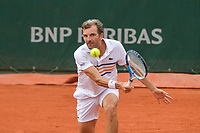 Julien Benneteau of France during Day 3 for the French Open 2018 on May 29, 2018 in Paris, France. (Photo by Baptiste Fernandez/Icon Sport)