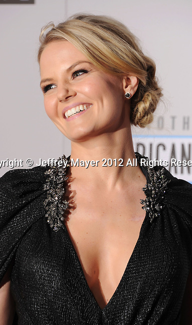 LOS ANGELES, CA - NOVEMBER 18: Jennifer Morrison attends the 40th Anniversary American Music Awards held at Nokia Theatre L.A. Live on November 18, 2012 in Los Angeles, California.