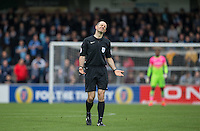 Referee Graham Horwood during the Sky Bet League 2 match between Wycombe Wanderers and Barnet at Adams Park, High Wycombe, England on 22 October 2016. Photo by Andy Rowland.