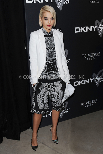 WWW.ACEPIXS.COM<br /> September 9, 2013 New York City<br /> <br /> Rita Ora seen at the DKNY 25 Birthday Bash on September 9, 2013 in New York City.  <br /> <br /> By Line: Kristin Callahan/ACE Pictures<br /> ACE Pictures, Inc.<br /> tel: 646 769 0430<br /> Email: info@acepixs.com<br /> www.acepixs.com<br /> Copyright:<br /> Kristin Callahan/ACE Pictures