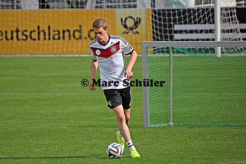 Matthias Ginter - Training der Deutschen Nationalmannschaft  zur WM-Vorbereitung in St. Martin