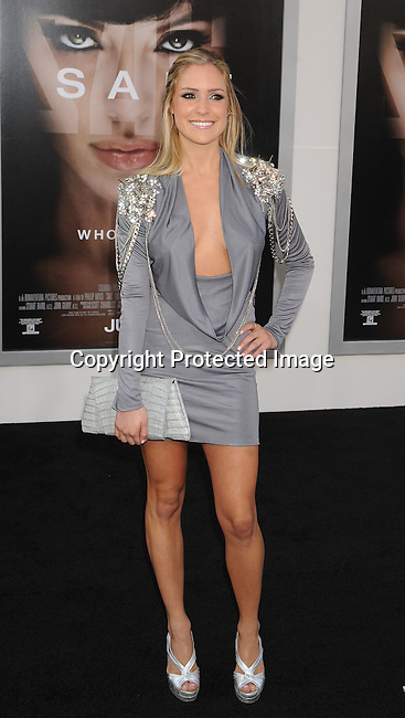 """HOLLYWOOD, CA. - July 19: Kristin Cavallari arrives at the """"Salt"""" Los Angeles Premiere at Grauman's Chinese Theatre on July 19, 2010 in Hollywood, California.Lorenzo di Bon"""