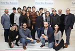 "The cast & creative team during the meet the cast photo call for the Paper Mill Playhouse production of  ""Benny & Joon"" at Baza Dance Studios on 3/21/2019 in New York City."