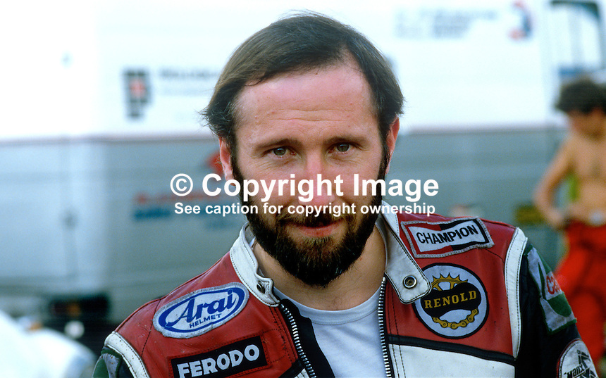 David Cowan, Newtownards, N Ireland, UK, racing motorcylist, 19840099DC1..Copyright Image from Victor Patterson, 54 Dorchester Park, Belfast, UK, BT9 6RJ..Tel: +44 28 9066 1296.Mob: +44 7802 353836.Voicemail +44 20 8816 7153.Skype: victorpattersonbelfast.Email: victorpatterson@me.com.Email: victorpatterson@ireland.com (back-up)..IMPORTANT: If you wish to use this image or any other of my images please go to www.victorpatterson.com and click on the Terms & Conditions. Then contact me by email or phone with the reference number(s) of the image(s) concerned.