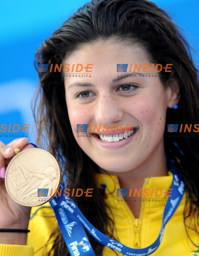 Roma 2nd August 2009 - 13th Fina World Championships From 17th to 2nd August 2009....Swimming finals..Women's 100m individual medley..Stephanie Rice (AUS) bronze medal....photo: Roma2009.com/InsideFoto/SeaSee.com