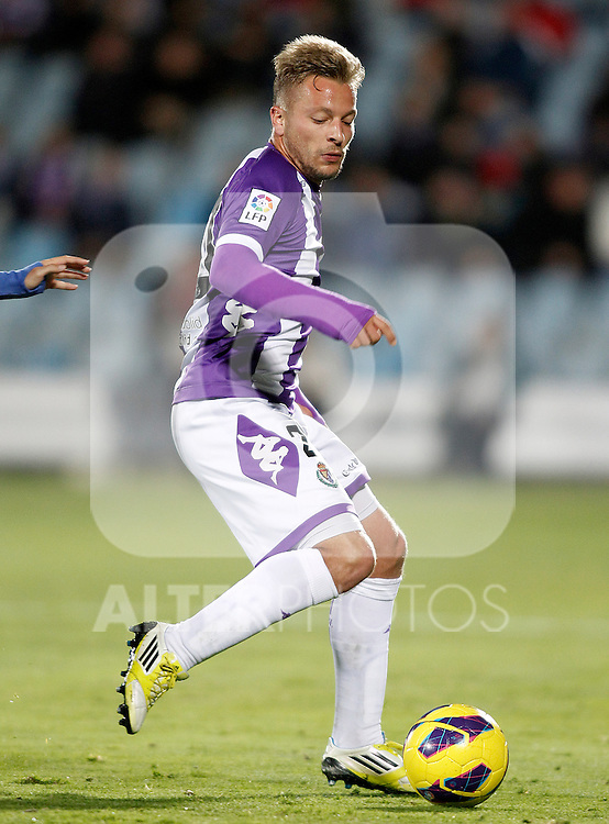 Real Valladolid's Patrick Ebert during La Liga match.November 18,2012. (ALTERPHOTOS/Acero)