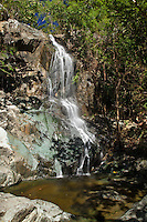 Reef Bay Waterfall and Petroglyphs<br /> Virgin Islands National Park<br /> St. John, U.S. Virgin Islands