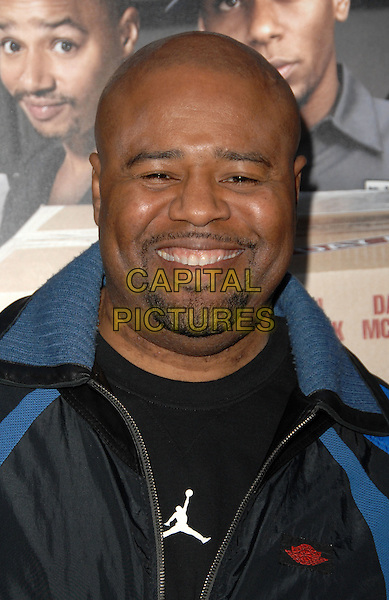 "CHI McBRIDE.Screening Of Summit Entertainment's ""Next Day Air"" held At The Arclight Cinemas, Hollywood, California, USA..April 29th, 2009.headshot portrait goatee facial hair .CAP/ADM/KB.©Kevan Brooks/AdMedia/Capital Pictures."