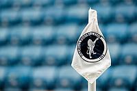 14th July 2020; The Den, Bermondsey, London, England; English Championship Football, Millwall Football Club versus Blackburn Rovers; Millwall corner flag