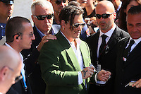 Johnny Depp attends 'Black Mass' arrivals during the 72nd Venice Film Festival at the Palazzo Del Cinema, in Venice, Italy, September 4, 2015.<br /> UPDATE IMAGES PRESS/Stephen Richie