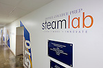 A view of the new Steamlab (Science, Technology, Engineering, Arts and Mathematics) at DePaul College Prep high school at 3633 N California Ave, Chicago, IL as seen on September 30, 2014. (DePaul University/Jeff Carrion)