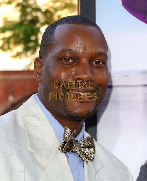 DWAYNE ADWAY.At the MGM Pictures' World Premiere of Soul Plane, held at The Mann Village Theatre in Westwood, California,.May 17,2004.portrait headshot white suit bow tie.*UK sales only*.www.capitalpictures.com.sales@capitalpictures.com.©Debbie Van Story/Capital Pictures