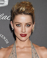 SANTA MONICA, CA - JANUARY 06: Actress Amber Heard arrives at the The Art Of Elysium's 11th Annual Celebration - Heaven at Barker Hangar on January 6, 2018 in Santa Monica, California.<br /> CAP/ROT/TM<br /> &copy;TM/ROT/Capital Pictures