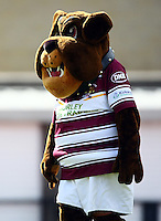 PICTURE VAUGHN RIDLEY/SWPIX.COM - Rugby League - Carnegie Challenge Cup, 4th Round - Hunslet Hawks v Batley Bulldogs - South Leeds Stadium, England - 15/04/12 - Batley Mascot.