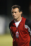 24 March 2004: DC's rookie head coach Peter Nowak before the game. DC United of Major League Soccer defeated the Wilmington Hammerheads of the Pro Select League 1-0 at the Legion Sports Complex in Wilmington, NC in a Carolina Challenge Cup match..