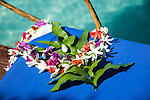 Floral lei, Aitutaki, Cook Islands