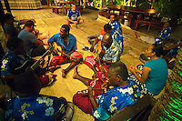 Namotu Island Resort, Fiji.  (Wednesday, March 23, 2011). Kava ceremony tonight. . Photo: joliphotos.com