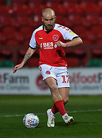 Fleetwood Town's Paddy Madden<br /> <br /> Photographer Dave Howarth/CameraSport<br /> <br /> Leasing.com Trophy Northern Section Round Three - Fleetwood Town v Accrington Stanley - Tuesday 7th January 2020 - Highbury Stadium - Fleetwood<br />  <br /> World Copyright © 2018 CameraSport. All rights reserved. 43 Linden Ave. Countesthorpe. Leicester. England. LE8 5PG - Tel: +44 (0) 116 277 4147 - admin@camerasport.com - www.camerasport.com