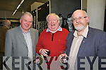 Dan Healy, Danny Leane and Murt Murphy pictured at the launch of the book Eyewitness and the website the kennelllyarchive.com in the library of the IT Tralee north campus on Thursday.