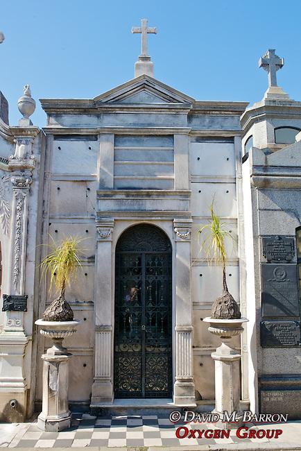 Jose Antonio Rodriguez Family Tomb, La Recoleta Cemetery