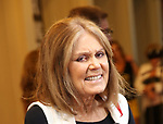 Gloria Steinem attends the Broadway Opening Night Performance for 'Michael Moore on Broadway' at the Belasco Theatre on August 10, 2017 in New York City.