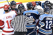The University of Wisconsin Badgers defeated the University of Maine Black Bears 5-2 in their 2006 Frozen Four Semi-Final meeting on Thursday, April 6, 2006, at the Bradley Center in Milwaukee, Wisconsin.  Wisconsin would go on to win the Title on April 8, 2006.
