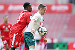 v.l. Jean-Philippe Mateta, Marco Friedl (Bremen)<br /><br />Sport: Fussball: 1. Bundesliga:: nphgm001:  Saison 19/20: 33. Spieltag: 1. FSV Mainz 05 vs SV Werder Bremen 20.06.2020<br />Foto: Wagner/Witters/Pool//via gumzmedia/nordphoto<br /><br /><br /> DFL REGULATIONS PROHIBIT ANY USE OF PHOTOGRAPHS AS IMAGE SEQUENCES AND OR QUASI VIDEO<br />EDITORIAL USE ONLY<br />NATIONAL AND INTERNATIONAL NEWS AGENCIES OUT