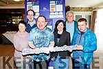 L-R Mary Meade, Pat Hartnett, Tommy Cantillon, Micheala Lacey, Rehab Care Blennerville, Ed Quirke, volunteer, and Richard Lyne, pictured last Tuesday in the Rose Hotel, Tralee at a Question and Answer Forum with local political candidates for the forthcoming elections, organised by Rehab Care Blennerville. Rehab Care will cease to exist in 12 months if they don't receive just 2 million funding from the Government.