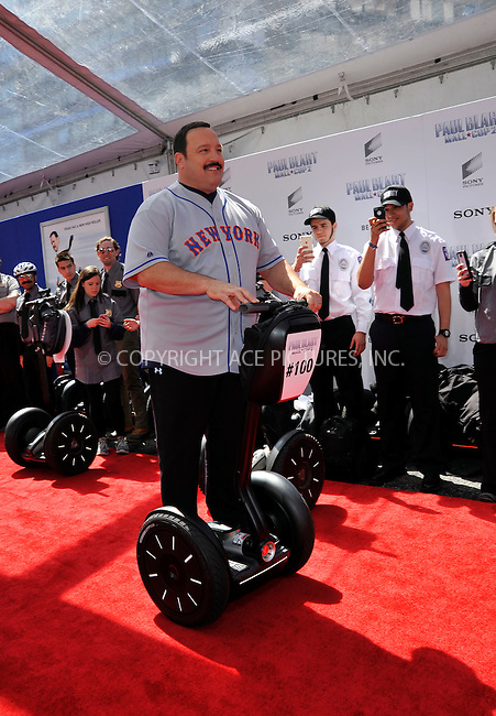 WWW.ACEPIXS.COM<br /> <br /> April 11 2015, New York City<br /> <br /> Actor Kevin James arriving at the 'Paul Blart: Mall Cop 2' New York Premiere at AMC Loews Lincoln Square on April 11, 2015 in New York City.<br /> <br /> By Line: Curtis Means/ACE Pictures<br /> <br /> <br /> ACE Pictures, Inc.<br /> tel: 646 769 0430<br /> Email: info@acepixs.com<br /> www.acepixs.com