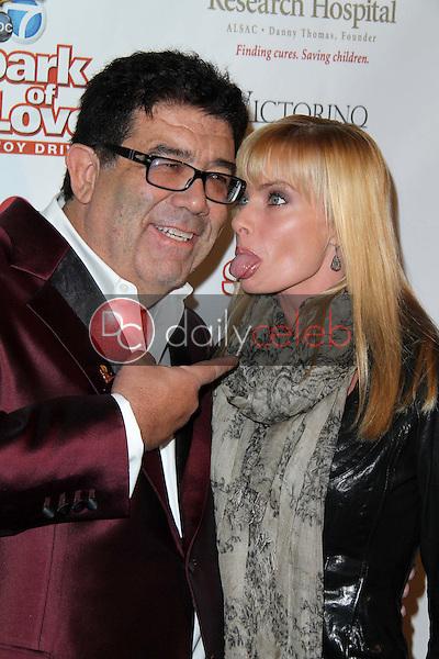 Victorino Noval, Jaime Pressly<br /> at Spark of Love, Private Location, Beverly Hills, CA 12-15-12<br /> David Edwards/DailyCeleb.com 818-249-4998