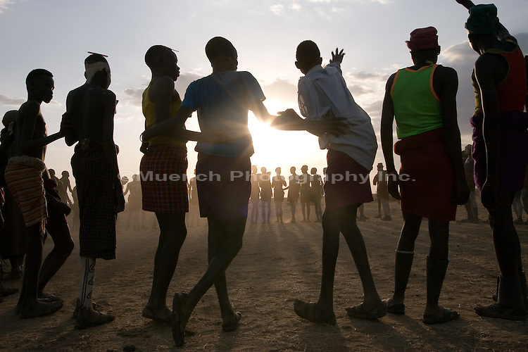 Nyagatom tribal dance