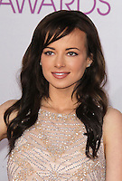 LOS ANGELES, CA - JANUARY 09: Ashley Rickards at the 39th Annual People's Choice Awards at Nokia Theatre L.A. Live on January 9, 2013 in Los Angeles, California. Credit: mpi21/MediaPunch Inc. /NORTEPHOTO