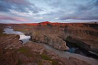Hafragilsfoss; Iceland; Jokulsargljufur; Thingeyjarsyslur