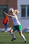 110410 Hammarbys Magdalena Eriksson under fotbollsmatchen i Damallsvenskan mellan Hammarby och Ume&aring; den 10 April 2011 i Stockholm. <br /> Foto: Kenta J&ouml;nsson<br /> Nyckelord: fotboll, damallsvenskan, hammarby, ume&aring;