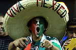 22 July 2015: A Mexico fan. The Panama Men's National Team played the Mexico Men's National Team at the Georgia Dome in Atlanta, Georgia in a 2015 CONCACAF Gold Cup semifinal match.