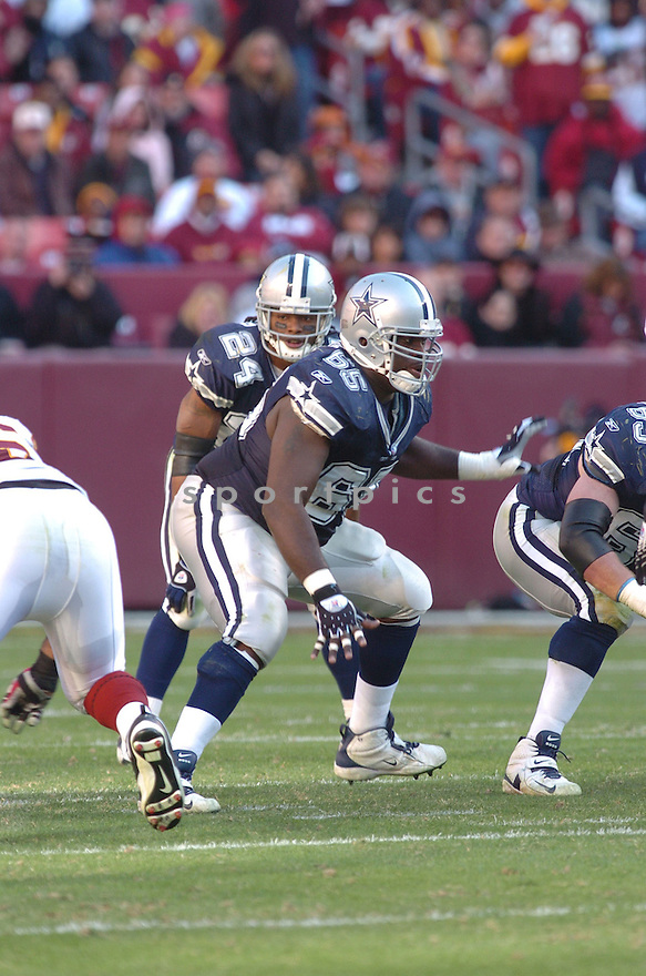 ANDRE GURODE, of the Dallas Cowboys ,during their game against  the  Washington Redskins on Novmeber 05, 2006 in Washington D.C....Redskins win 22-19..Tomasso DeRosa / SportPics