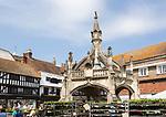 Market cross known as Poultry Cross, Salisbury, Wiltshire, England, UK