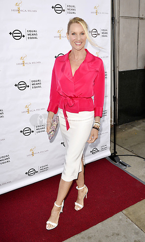 """BEVERLY HILLS, CA - AUGUST 26: Nicolette Sheridan attends the """"Equal Means Equal"""" Special Screening at the Music Hall on August 20, 2016 in Beverly Hills, CA. Koi Sojer, Snap'N U Photos / MediaPunch"""
