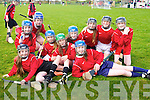 Allianz Cumann na mBunscol Hurling Finals at Abbeydorney GAA on Monday.Pictured Glenderry girls - Shauna Casey, Fiona Quirke, Ava Griffin, Erica Lucid, Maria Dunne,  Sarah Healy, Laura Reidy, Clodagh Donnelly, Jessica Kenny, Leanna Roche