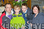 The Horan's from Scaraglen at the Mass for the sick in St Mary's Cathedral on Saturday l-r: Niall, Michael, Denis and Carena Horan..