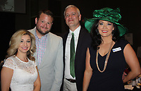 NWA Democrat-Gazette/CARIN SCHOPPMEYER Janna Pittman and Ryan Irsik (from left) and Michael Lindsey and Toni Bahn enjoy A Nite at the Races.