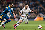 Lucas Vazquez of Real Madrid in action during their Copa del Rey 2016-17 Quarter-final match between Real Madrid and Celta de Vigo at the Santiago Bernabéu Stadium on 18 January 2017 in Madrid, Spain. Photo by Diego Gonzalez Souto / Power Sport Images