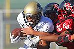 Palos Verdes, CA 11/10/10 - Nathan Jo (Peninsula #12) in action during the junior varsity football game between Peninsula and Palos Verdes at Palos Verdes High School.