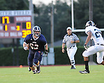 Images from St. Martin's Saints vs. the Thomas Jefferson Jaguars played at Tony Porter Field in Metairie, LA.  St. Martin's went on to defeat Thomas Jefferson 44-12.