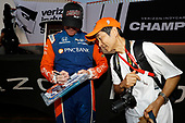 Kiwi Champion Scott Dixon, Chip Ganassi Racing Honda