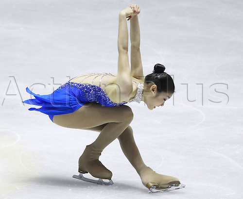 04.12.2009 ISU Grand Prix of Figure Skating Final at the Yoyogi National Gymnasium in Tokyo. Picture shows Kim Yuna.