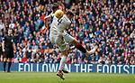 28.04.2019 Rangers v Aberdeen: Nikola Katic and Andy Considine for second penalty kick