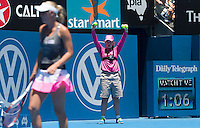 AMBIENCE..Tennis - Apia Sydney International -  Sydney 2013 -  Olympic Park - Sydney - NSW - Australia. Sunday 6th January  2013. .© AMN Images, 30, Cleveland Street, London, W1T 4JD.Tel - +44 20 7907 6387.mfrey@advantagemedianet.com.www.amnimages.photoshelter.com.www.advantagemedianet.com.www.tennishead.net